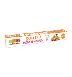 Rouleau pâte à sucre orange 7267