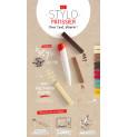 Kit stylo pâtissier + 3 cartouches de chocolat PandaColor®