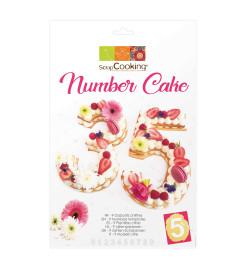 Kit number cake