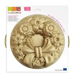 Moule silicone couronne dorée
