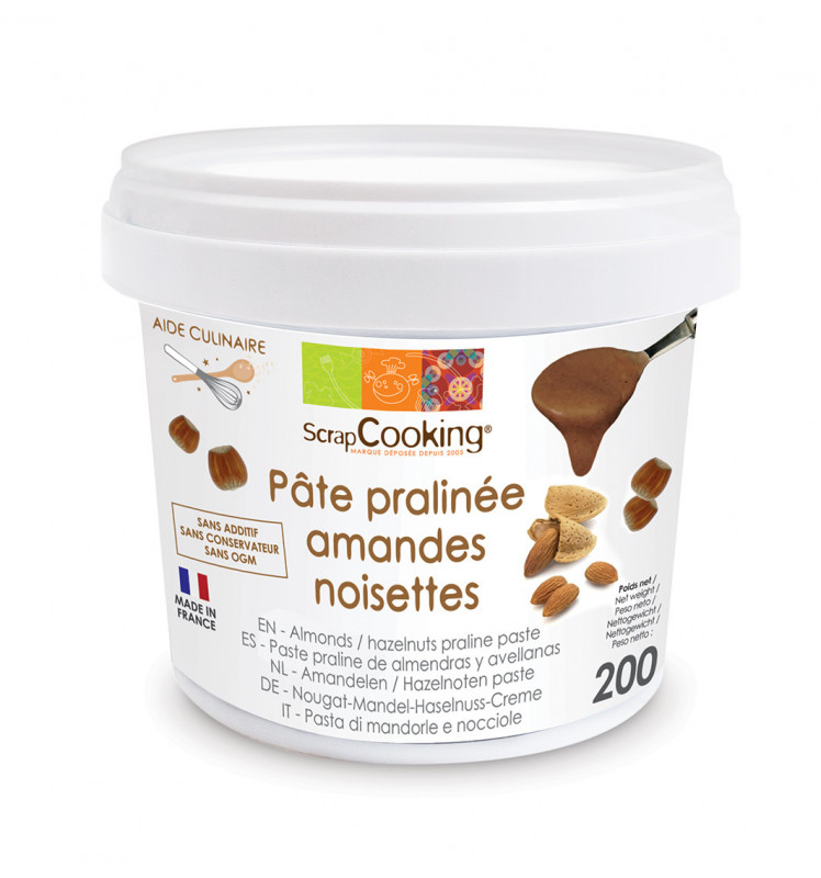 Almond and hazelnut paste 200g
