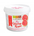 Pot of red royal icing mix 190g