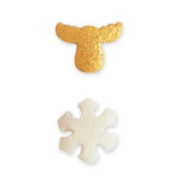 Détail décors flocon et caribou