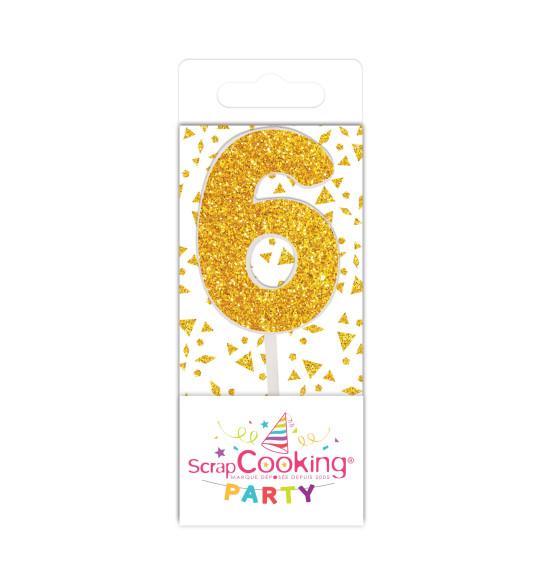 Gold mini candle 6
