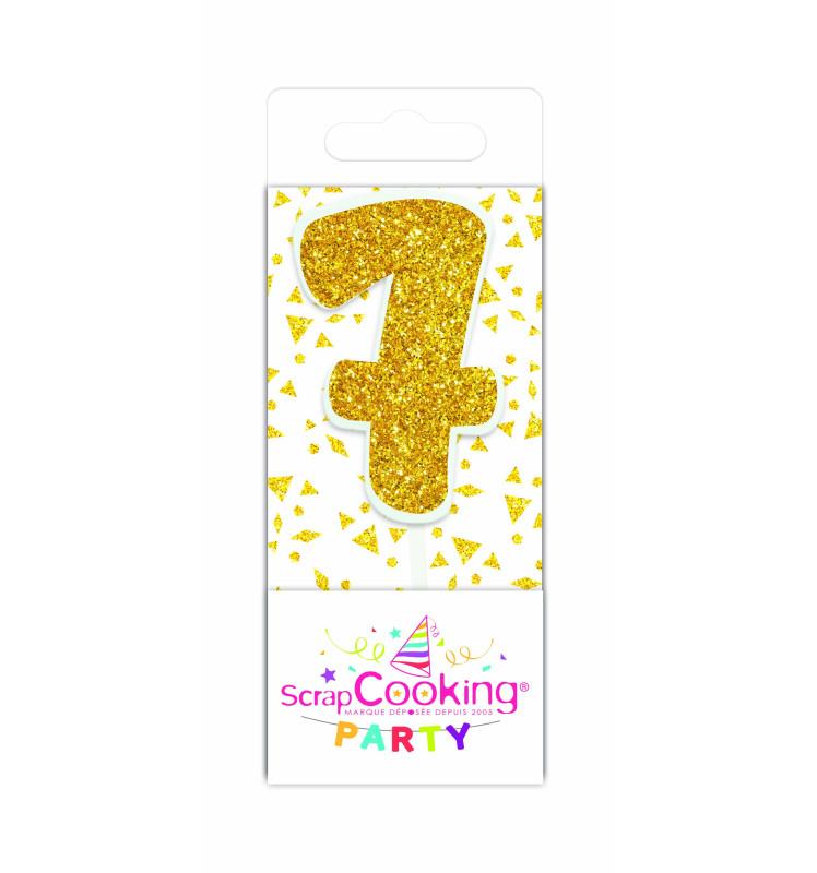 Gold mini candle 7