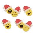 Décosucres smileys Père-Noël
