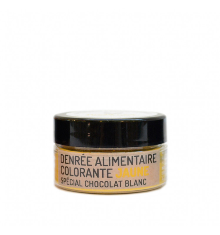 Colorant liposoluble jaune 10g PandaColor®