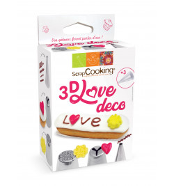 3D Love Deco Kit