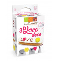 Kit douilles 3D Love Déco