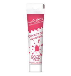 Colorant gel rose fraise 20 gr réf.7141