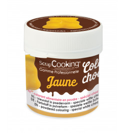 Color'choco liposoluble jaune 5 gr réf.4091