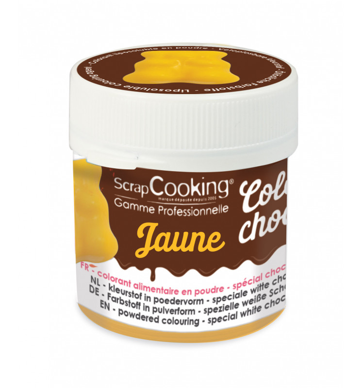Color'choco liposoluble jaune 5 gr