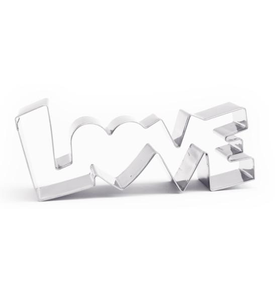 Découpoir inox mot Love