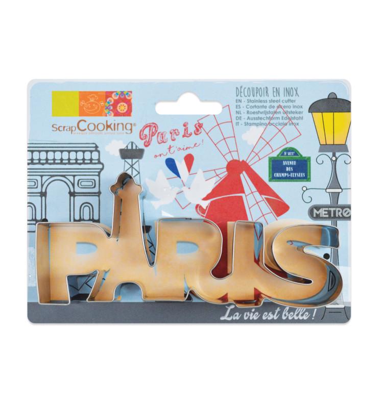 Découpoir inox mot Paris