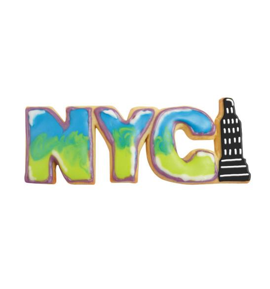Découpoir inox mot NYC