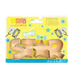Découpoir inox mot Star