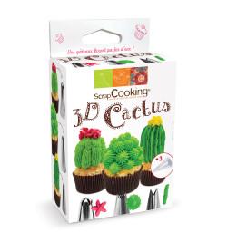 Kit douilles 3D Cactus réf.1827