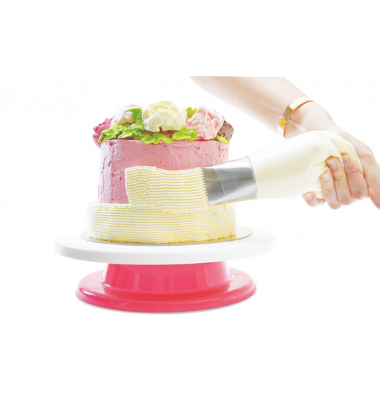 XXL piping tip for icing cakes and decorating logs
