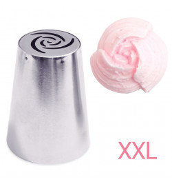XXL rose piping tip