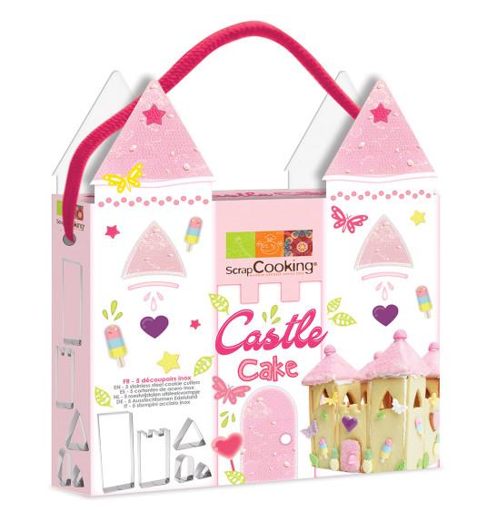 Kit découpoirs Castle cake