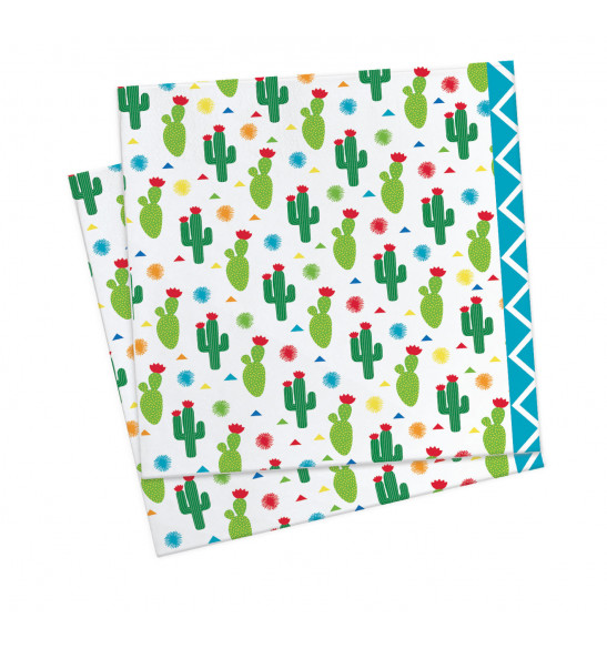 20 serviettes lama