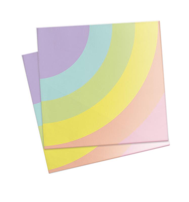20 Unicorn paper napkins 33x33cm
