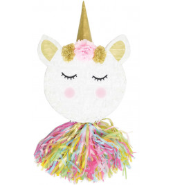 Unicorn head piñata