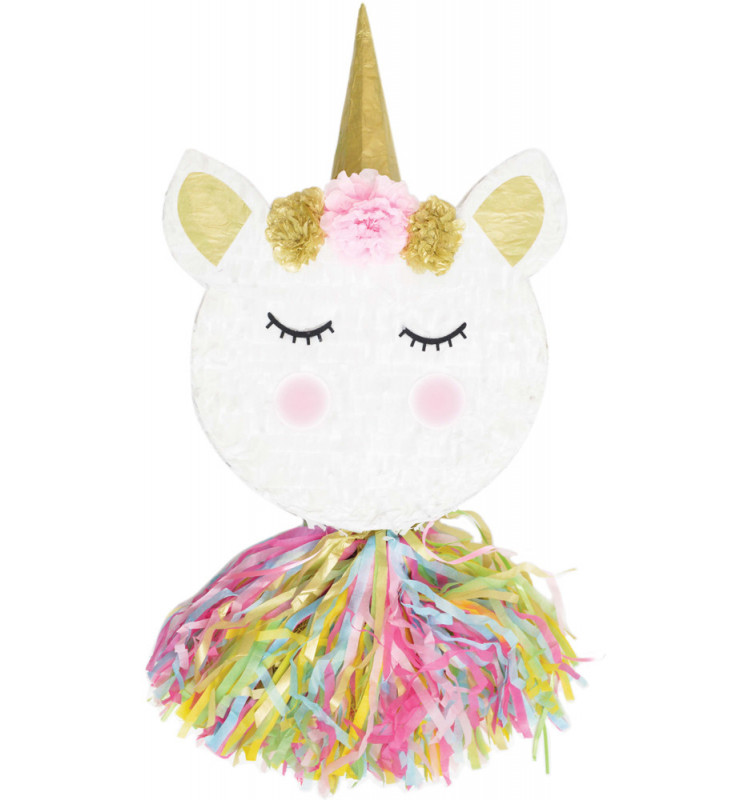Unicorn head piñata