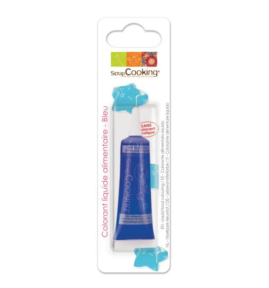Colorant liquide bleu