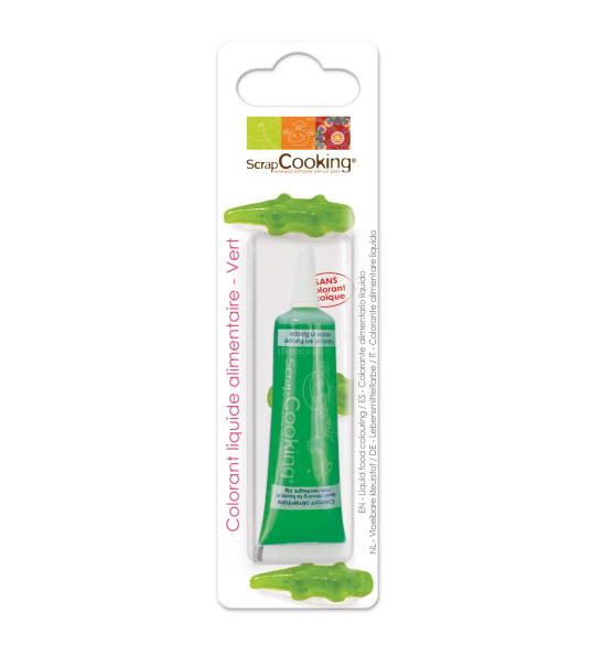 Colorant liquide vert