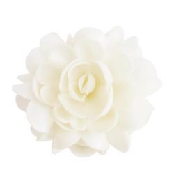 Fleur azyme blanche XXL env.10 cm