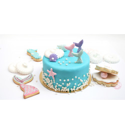 Ambiance gâteau sirène