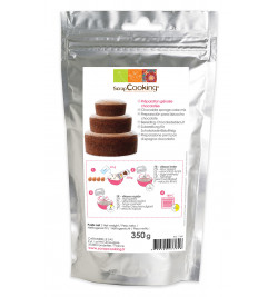Chocolate sponge cake mix 350g