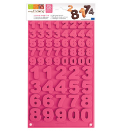 Numbers choco mould