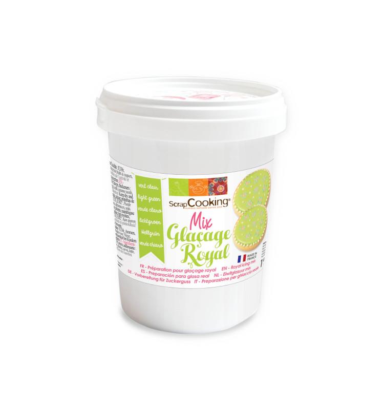 Pot mix glaçage royal vert clair