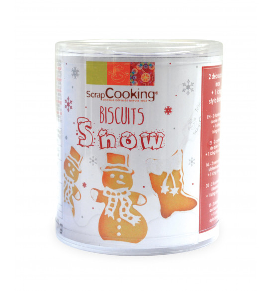 Snow cookie kit
