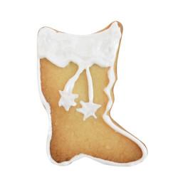 Réalisation biscuit botte du Père Noël