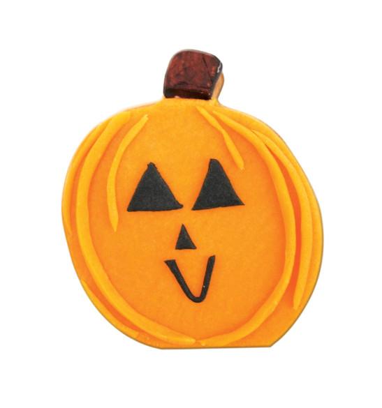 Seau 16 emporte-pièces acier Halloween