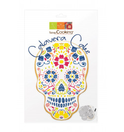 3914 Kit Calavera cake