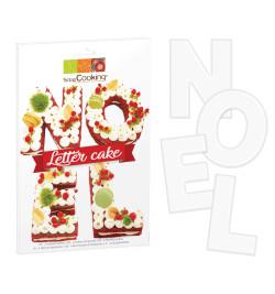 Détail Kit Letter Cake Noël