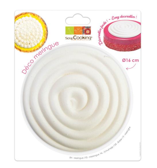 Disque meringue spirale 16 cm