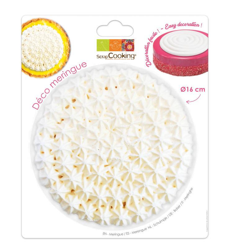 Disque meringue multi-gouttes 16 cm