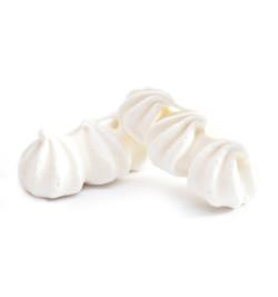Détail meringues 3 gouttes cannelées