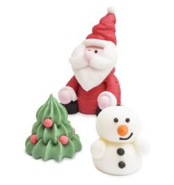 Détail décosucres 3D Noël