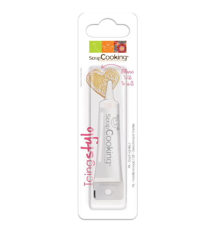 Vanilla flavoured white icing pen
