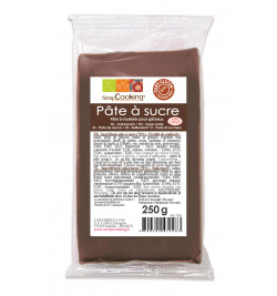 Brown sugarpaste pack 250g