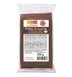 Pâte à sucre marron 250 gr