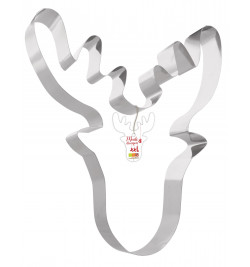 XXL Moose cookie cutter mould