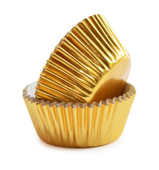 Caissettes dorées +/-48