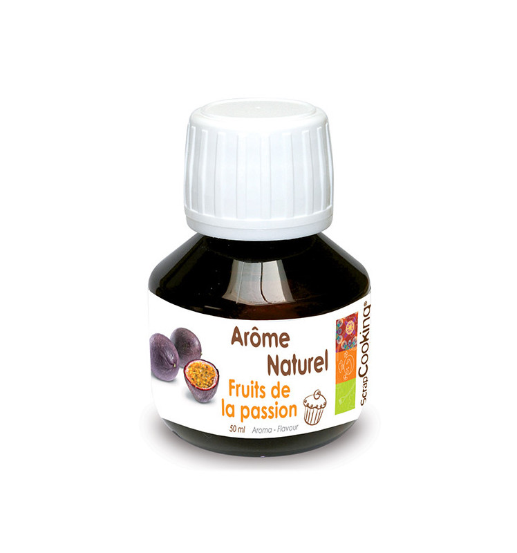 Natural passion fruit flavouring 50 ml